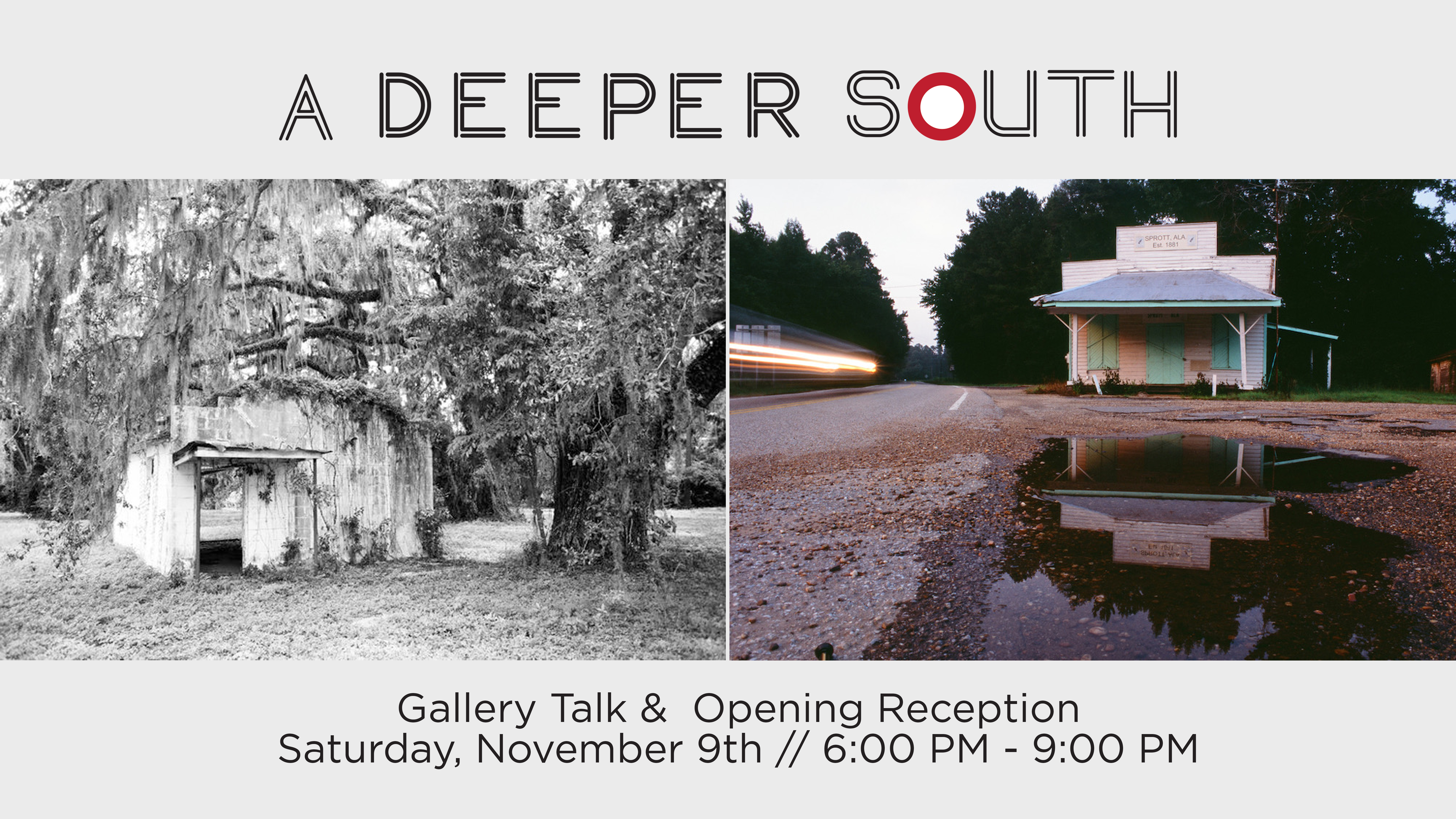 Gallery Talk and Reception: A Deeper South